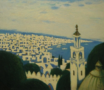 «Вид части города Баку» ::: Тофик Газанфар