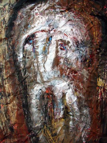 """Гобустан и портрет"" ::: Анар Гусейнзаде"