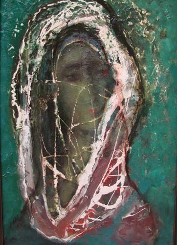 """""""Портрет на зеленом фоне"""" ::: Анар Гусейнзаде"""