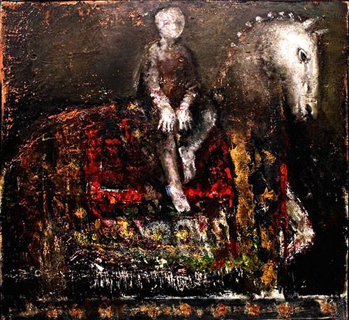 «На коне» ::: Бахруз Кенгерли