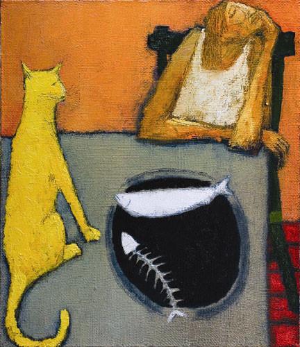 """""""Желтый кот"""" ::: Нияз Наджафов"""