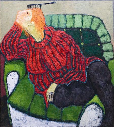 """""""Рыжая в кресле"""" ::: Нияз Наджафов"""