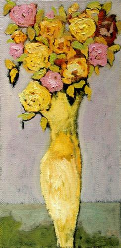 """""""Длинные розы в желтой вазе"""" ::: Нияз Наджафов"""