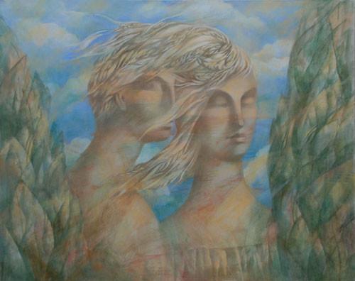 """""""Весенний ветер"""" ::: Рена Амрахова"""