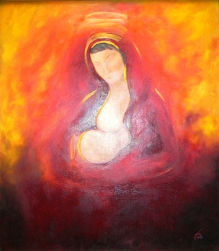 «Мать и дитя» ::: Афа Марьям