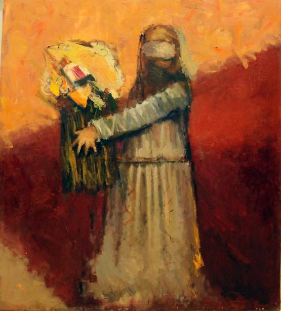 «Flower –seller» ::: Bakhruz Kangarli