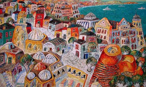 «Сказки Баку» ::: Анар Гусейнзаде