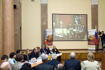 """Opening of the Informational-educational centre """"The Russian museum: virtual branch"""""""