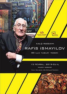 Мероприятие, посвященное 80-летию Народного Художника Азербайджана Рафиса Исмайлова