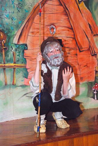 Выступление детского театра «Гюнай» со спектаклем  «Сказка о рыбаке и рыбке» в рамках цикла «Театр в Музее», посвященный 211-ой годовщине А.С. Пушкина. Пропаганда русской классической литературы