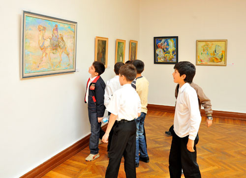 Презентация музейно-образовательной программы для студентов и школьников в рамках Всемирного Дня культурного разнообразия во имя диалога и развития