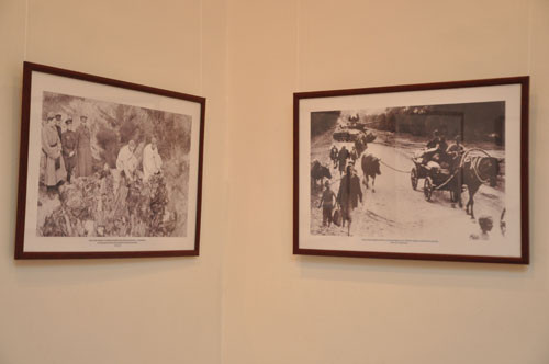 Выставка фотографий «Память» (Беларусь в Великой Отечественной войне) из фонда Белорусского государственного архива кинофотофонодокументов