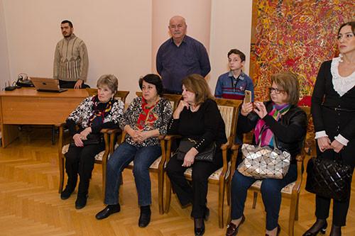 Персональная выставка народного художника Азербайджана МирНадира Зейналова