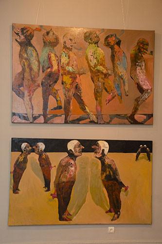 Персональная выставка художника Нияза Наджафова «БЕЗ НАЗВАНИЯ»