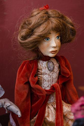 Международная выставка кукол грузинских художников «Под крылом Ангела»