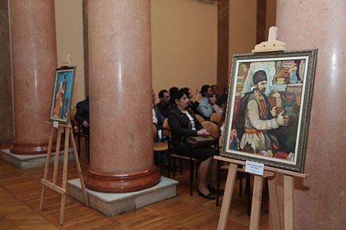 Вечер памяти Народного художника Азербайджана Рафика Мехтиева, посвященная 65-летию
