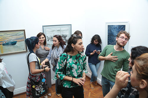 Выставка изобразительного искусства «Пароходство-160», посвященная 160 летнему юбилею Азербайджанского Каспийского Морского Пароходства