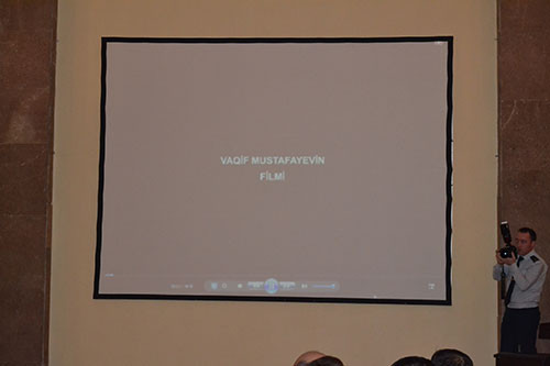 Презентация документального фильма «Под тяжестью страданий», посвященная 28-летию  Ходжалинской трагедии в рамках  мероприятия «Жизни, оставшиеся в Ходжалы»