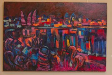 Выставка «Под небом голубым»