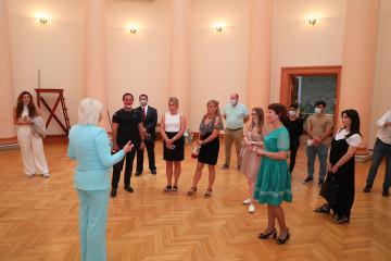 Beynəlxalq müasir incəsənət layihəsi çərçivəsində, Macarıstan istehsalı «PEACE BE UPON YOU-SALAM ALEYKUM» filmin nümayişi
