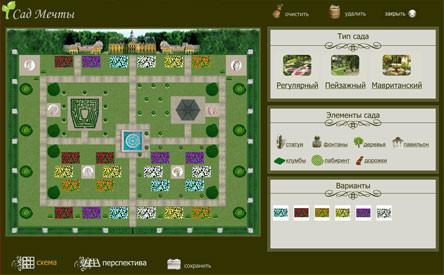 Интерактивная компьютерная программа Сад мечты